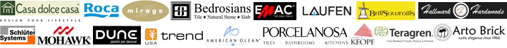 Brands carried by Cosmos Flooring