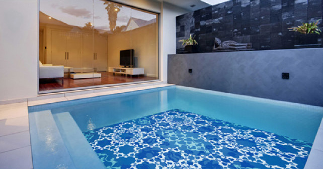 Swimming pool tiles in los angeles where to buy how for Pool design los angeles