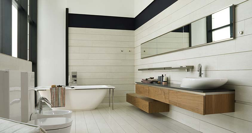Bathroom ideas inspirations porcelanosa los angeles for Porcelanosa bathroom designs