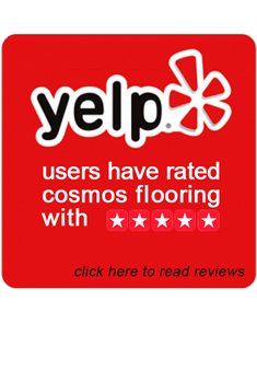 Yelp users rated cosmos flooring with 5 stars
